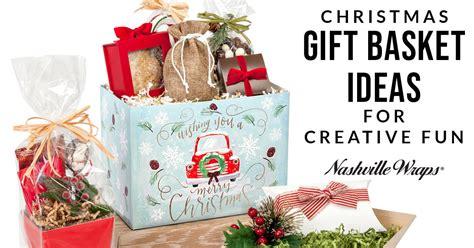 Christmas Gift Basket Ideas For Creative Fun