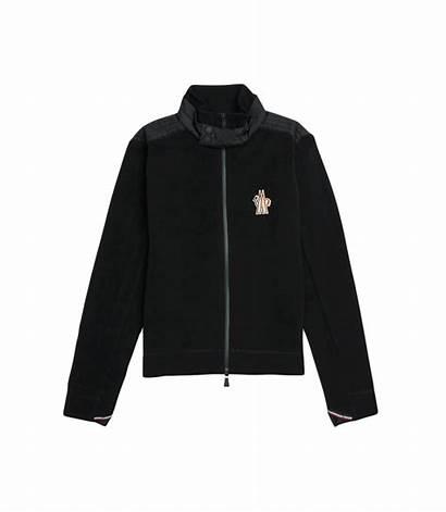 Moncler Fleece Grenoble Tricolour Latest Jacket Maglia