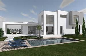 maison cubique fashion designs With plan de maison cubique 7 maison cubique henin beaumont le blog des maisons buchert