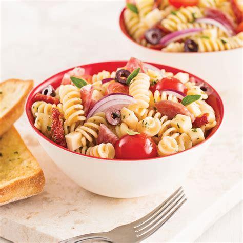 cuisine à l italienne salade de pâtes à l 39 italienne recettes cuisine et