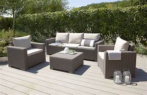 Salon De Jardin Lounge : taupe grey lounge set 5 seats lounge furniture out out original ~ Teatrodelosmanantiales.com Idées de Décoration