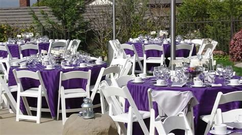 modern backyard backyard wedding reception ideas