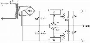 Dual Polarity Power Supply Circuit Diagram And Instructions