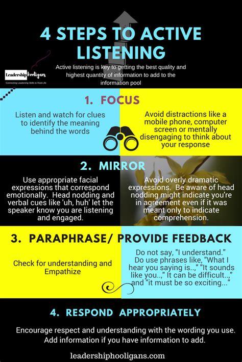 active listening  key leadership skill  images