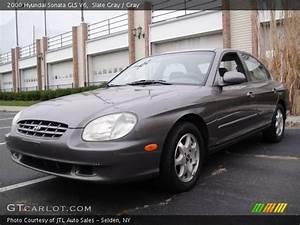Slate Gray - 2000 Hyundai Sonata Gls V6 - Gray Interior