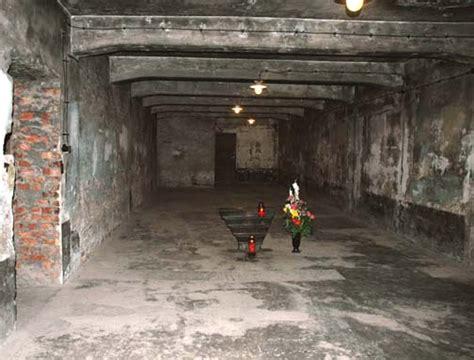 gas chambers at birkenau bunker 1 and bunker 2