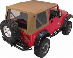 Rampage Products Complete Soft Top Kit for 97
