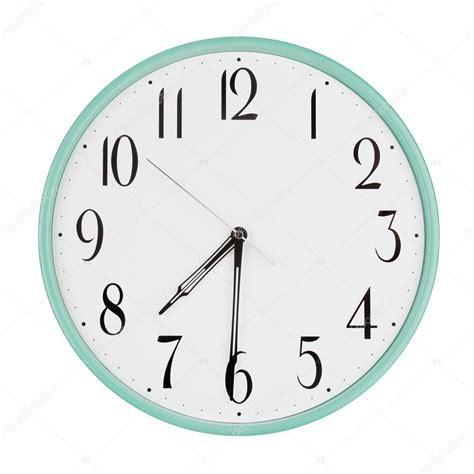 clock shows    stock photo