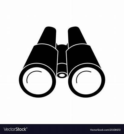 Binoculars Icon Binocular Vectors