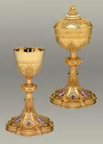 Catholic Chalice and Ciborium
