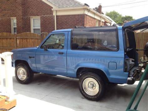 purchase   ford bronco ii xl sport sport utility