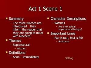 Macbeth Act 1 N... Macbeth Summary