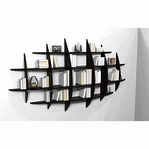 étagère Murale Bibliothèque : biblioth que murale retento japonisante pm mithka design ~ Teatrodelosmanantiales.com Idées de Décoration