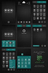 Metro Black Theme Android Go Launcher Ex by gseth on ...