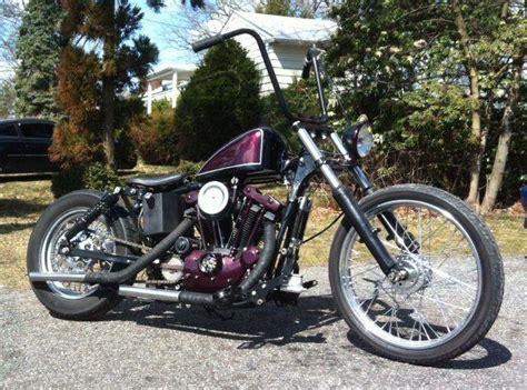 1976 Harley Ironhead Sportster Chopper Bobber For Sale On