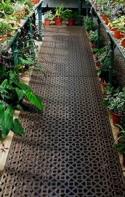 Greenhouse Floor Ideas  Greenhouses  Pinterest Gardens