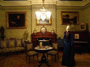 Front Parlor - Picture of Benjamin Harrison Presidential ...