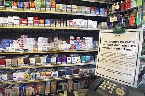 prix bureau de tabac prix des cigarettes les fumeurs ont toussé lundi