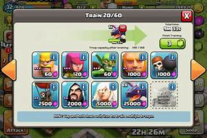 clash of clans troopsclash of clans dark troops viewing ...