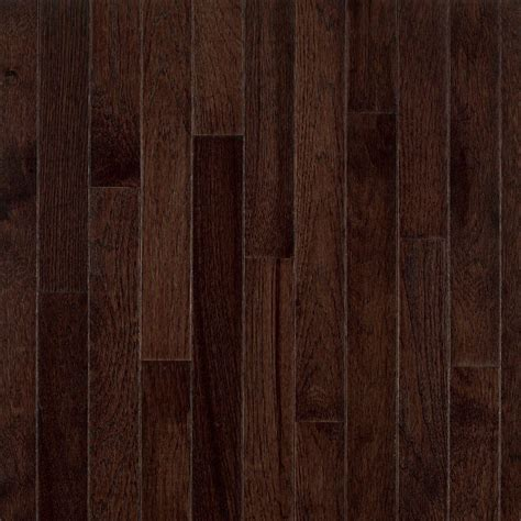 3 1 4 wood flooring bruce frontier shadow hickory 3 4 in thick x 3 1 4 in wide x random length solid hardwood