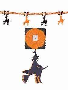 Halloween Deko Günstig Kaufen : hexen girlande halloween party deko orange schwarz 300x32cm ~ Michelbontemps.com Haus und Dekorationen