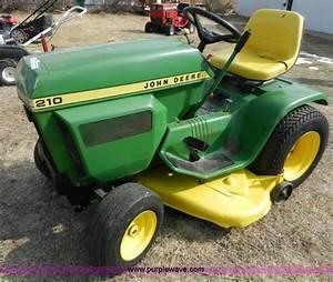 John Deere 210 Garden Tractor