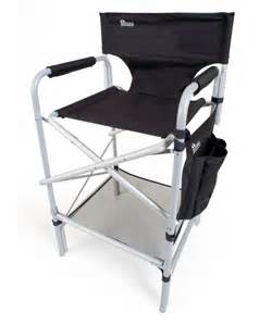 earth vip tall aluminum director s chair tall director
