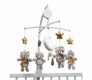 Mobile Musical Pour Bébé : mobile musical b b timouki ours en peluche sauthon ~ Teatrodelosmanantiales.com Idées de Décoration
