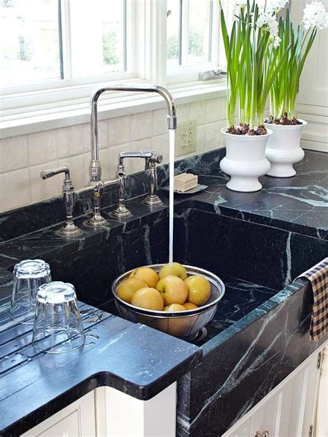 kitchen sink built into countertop a family friendly kitchen remodel