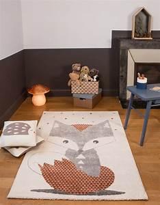 Tapis Chambre Enfant : tapis chambre de b b renard ~ Teatrodelosmanantiales.com Idées de Décoration