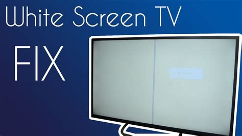 fix white screen haier tv youtube