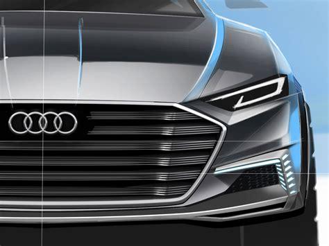 Audi Prologue Allroad Concept Design Sketch Render