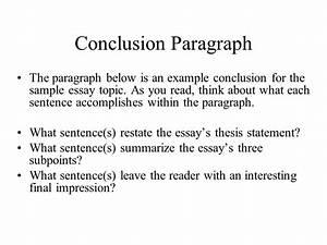 autobiography conclusion paragraph