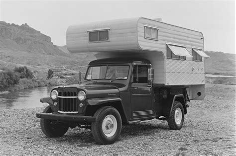 jeep classic camper offroad  custom truck motorhome pickup wallpaper