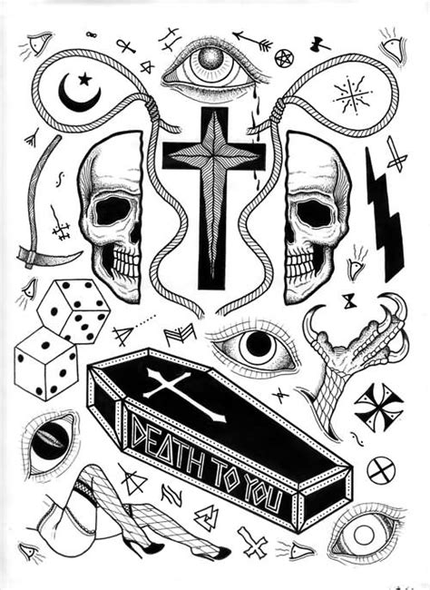 35+ Incredible Coffin Tattoos Designs