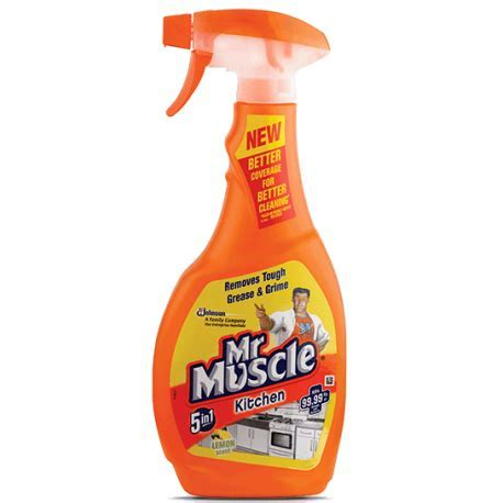 Mr.Muscle 5in1 Total Kitchen Cleaner Orange 500ml from