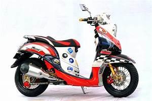 Foto Modifikasi Motor Yamaha Mio Fino Terbaru