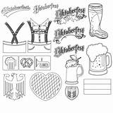 Oktoberfest Coloring Pages Drawing Clipart Transparent Special Webstockreview Drawings Getcolorings Occasions Holidays Printable sketch template