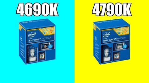 I5 4690k Vs I7 9700k