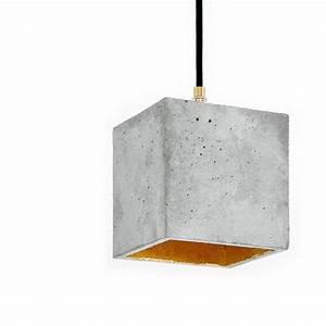 Beton In Form : beton h ngeleuchte in kubus form online kaufen online shop ~ Markanthonyermac.com Haus und Dekorationen