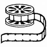 Film Reel Drawing Embroidery Designs Machine Getdrawings Embroiderydesigns Roll Zoom sketch template