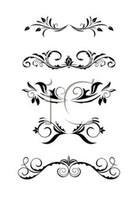 clip art downloads scroll  decorative