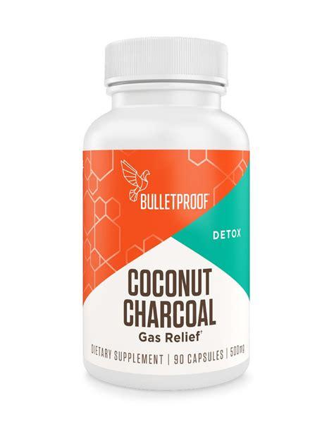 bulletproof coconut charcoal supplement  capsules