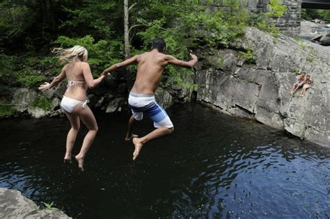 cliff jumping the sinks smoky mountains great smoky mountains national park the sinks of the