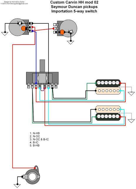Hermetico Guitar Wiring Diagram Custom Carvin Mods