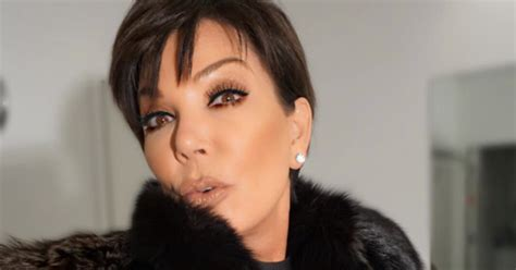 Kris Jenner Does Her Best Fish Gape to Model Kylie Lip Kit