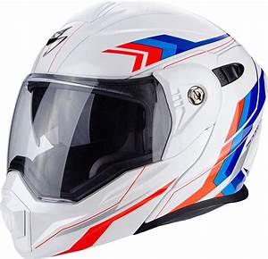 Casque Scorpion Modulable : casque moto enduro modulable scorpion adx 1 anima blanc rouge bleu equip 39 moto ~ Medecine-chirurgie-esthetiques.com Avis de Voitures