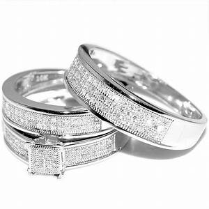 Beautiful White Gold Wedding Ring Sets For Women