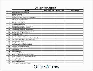 17 office move checklist template free besttemplates for Office relocation checklist template