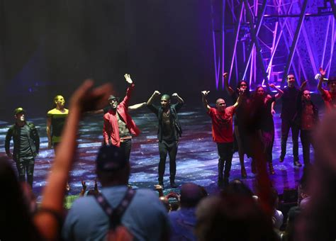 blood on the floor past members cirque comes circle with eighth show las